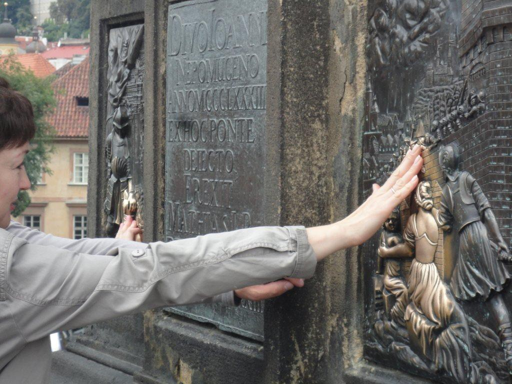Prag - auf der Bruecke